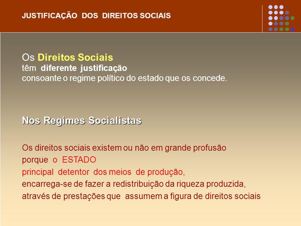Nos Regimes Socialistas