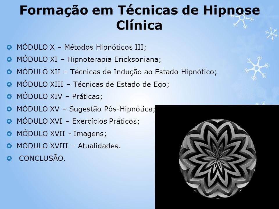 Formação em Técnicas de Hipnose Clínica