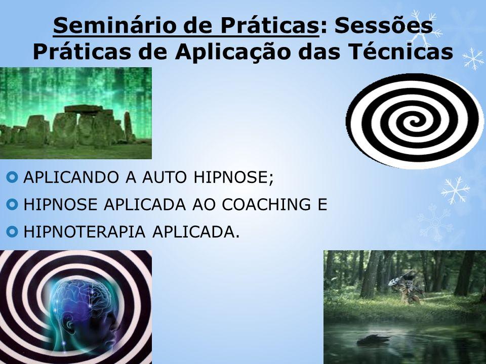 Seminário de Práticas: Sessões Práticas de Aplicação das Técnicas