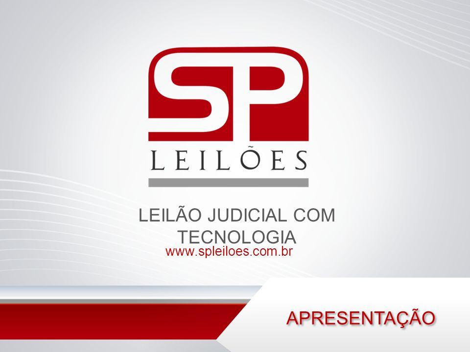 LEILÃO JUDICIAL COM TECNOLOGIA