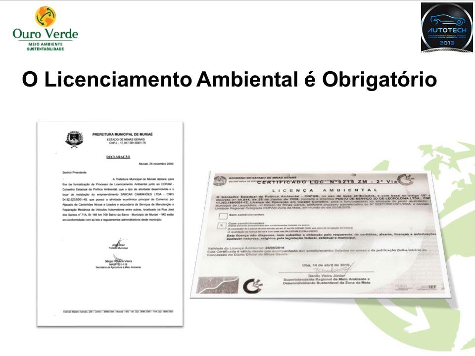 O Licenciamento Ambiental é Obrigatório