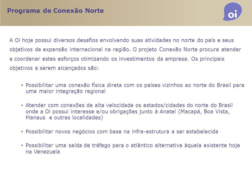 Programa de Conexão Norte Possibilidades