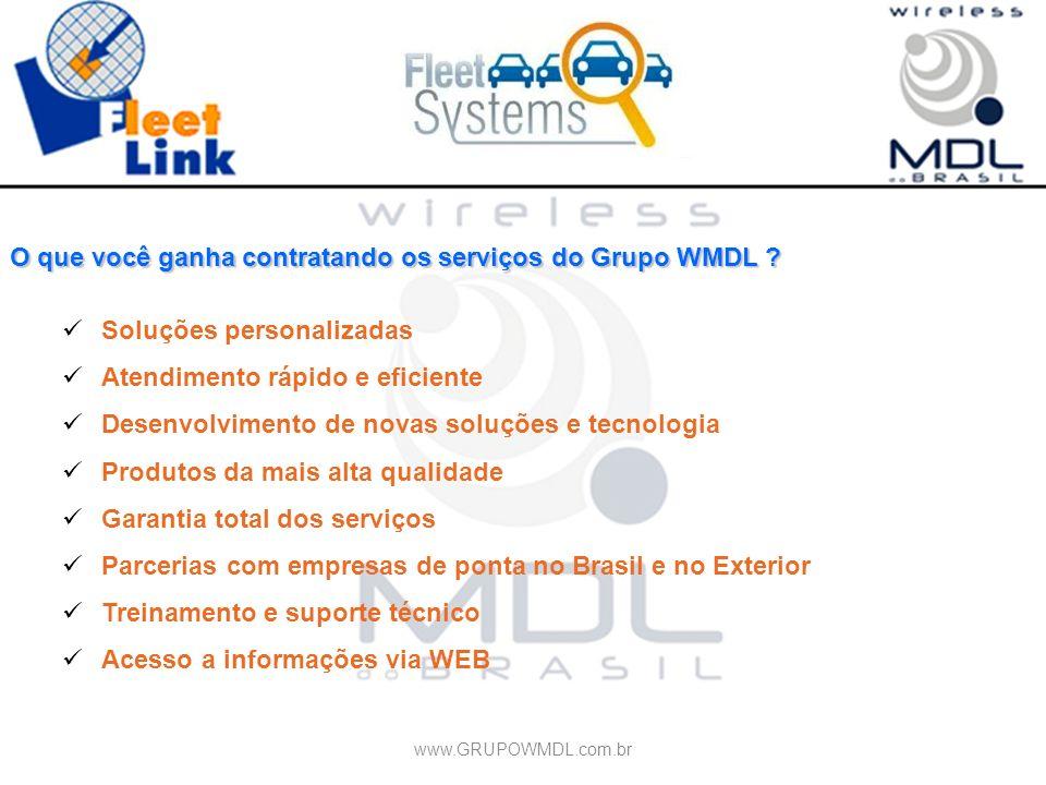 O que você ganha contratando os serviços do Grupo WMDL