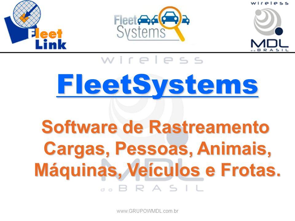 FleetSystems Software de Rastreamento Cargas, Pessoas, Animais,