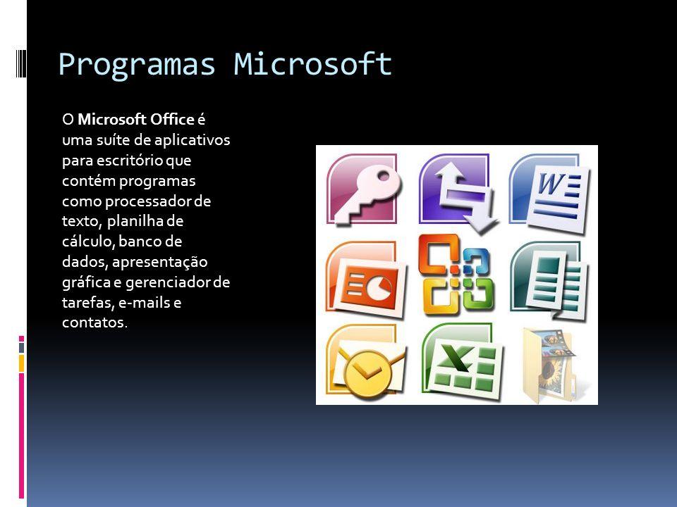 Programas Microsoft