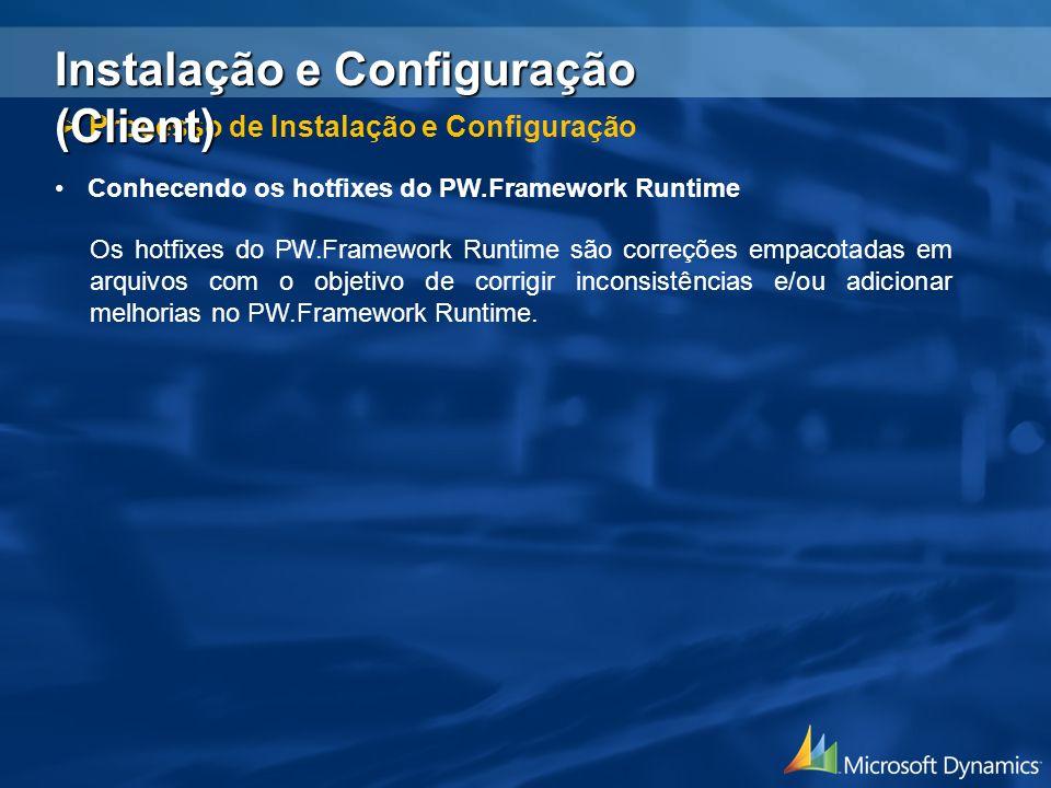 Instalação e Configuração (Client)