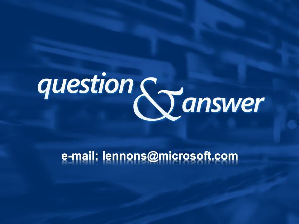 e-mail: lennons@microsoft.com