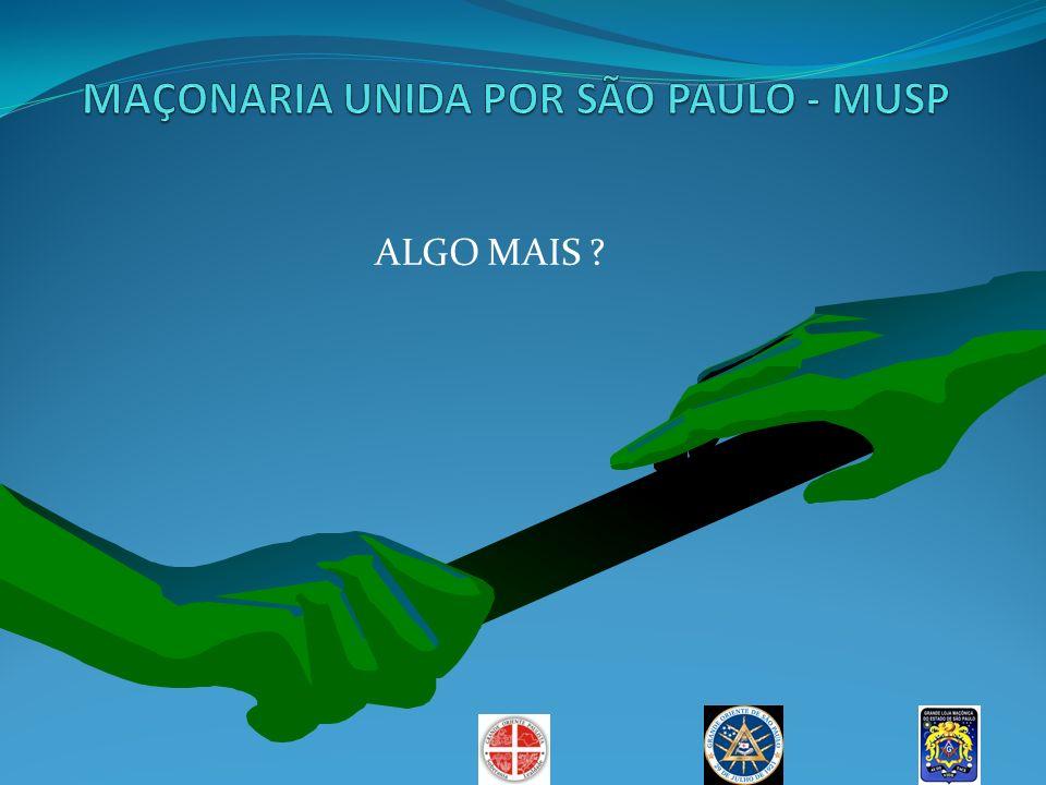 MAÇONARIA UNIDA POR SÃO PAULO - MUSP