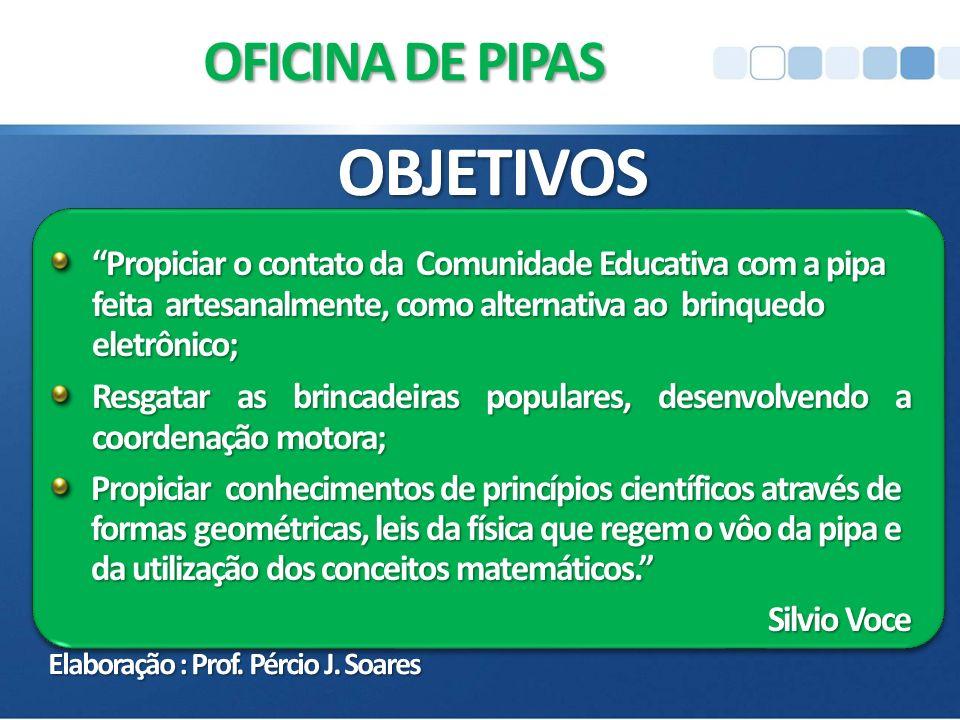 OBJETIVOS OFICINA DE PIPAS