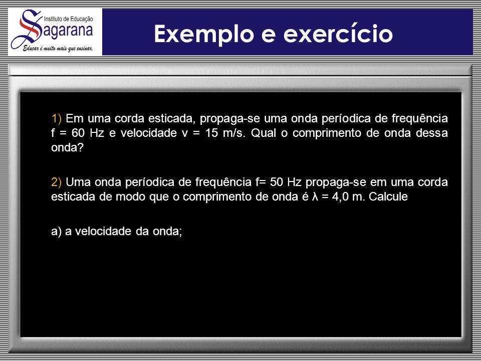 Exemplo e exercício