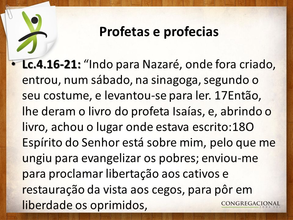 Profetas e profecias