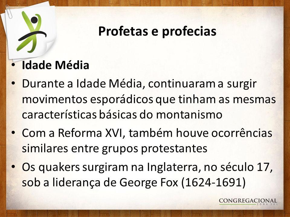 Profetas e profecias Idade Média