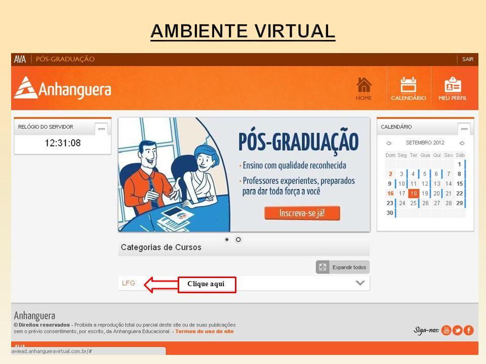 Ambiente virtual Clique aqui