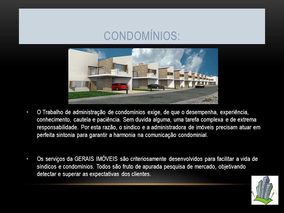 Condomínios: