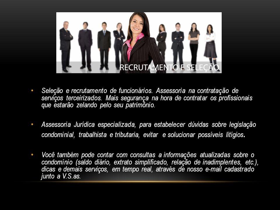 Seleção e recrutamento de funcionários