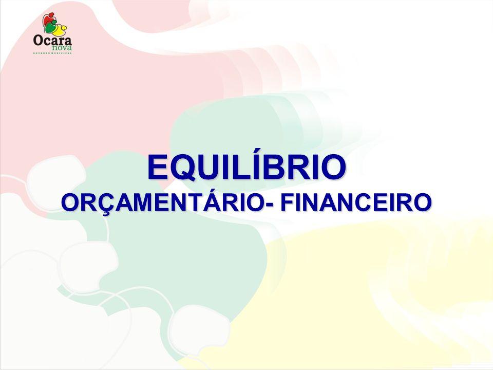 ORÇAMENTÁRIO- FINANCEIRO
