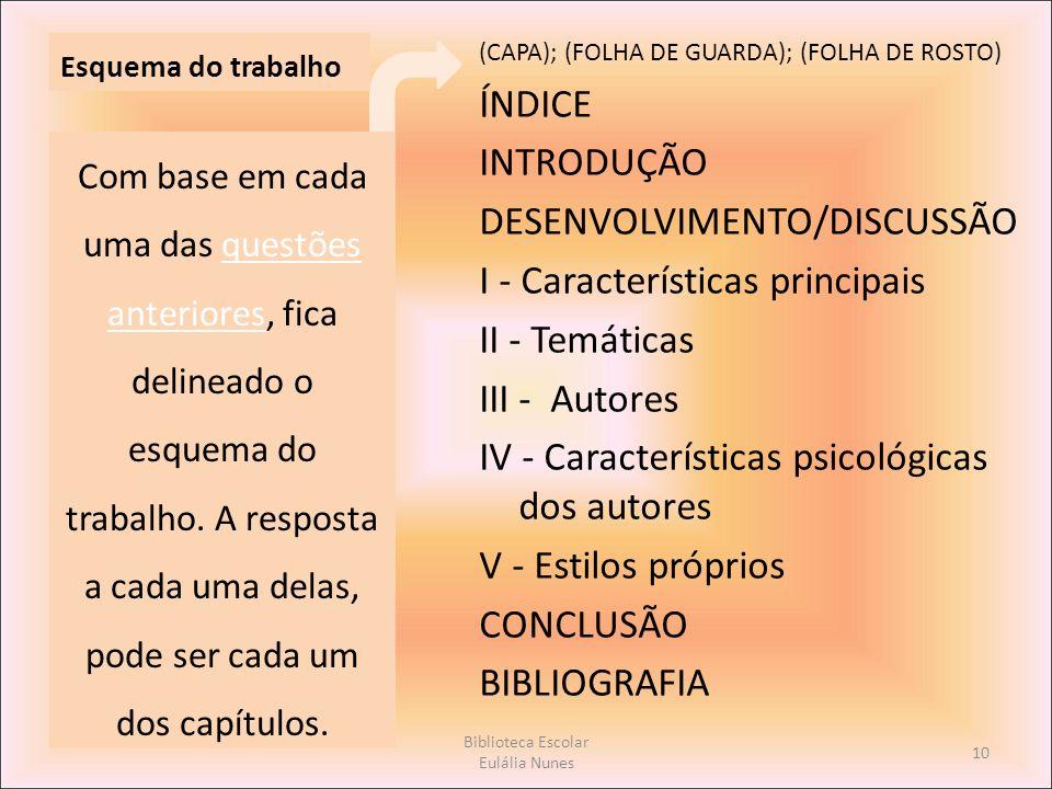 Biblioteca Escolar Eulália Nunes
