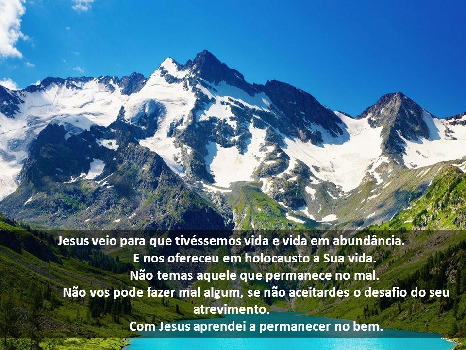 Jesus veio para que tivéssemos vida e vida em abundância