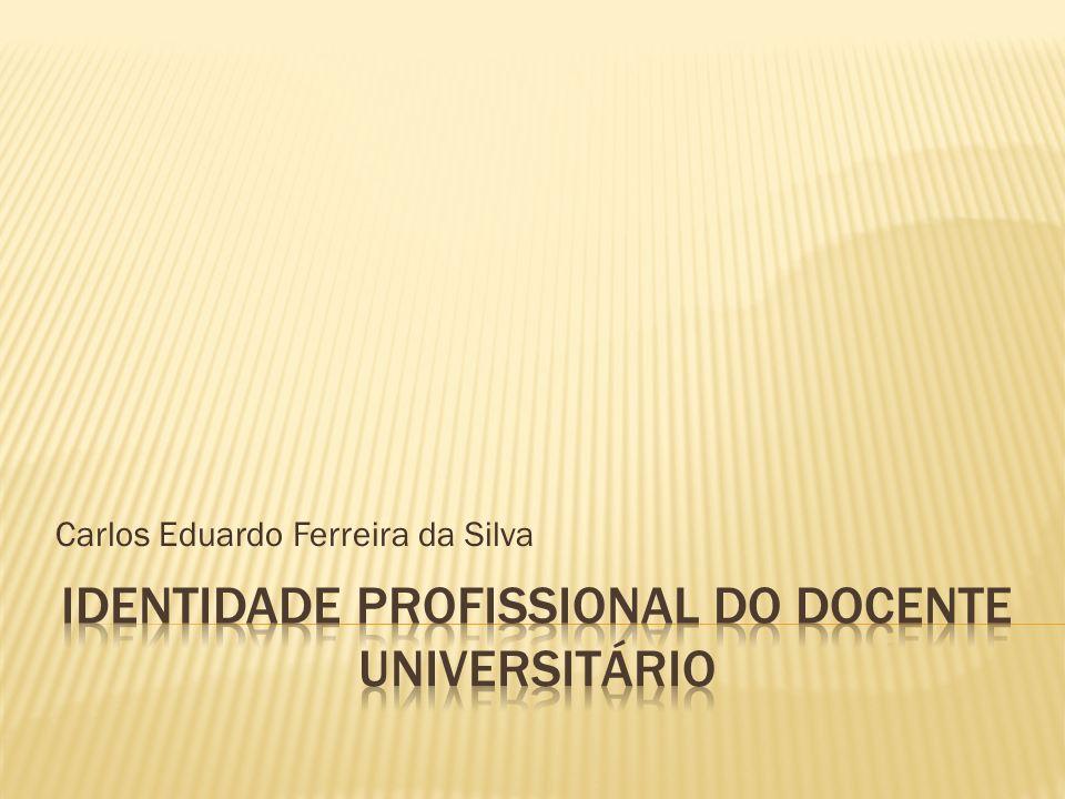 Identidade profissional do docente universitário
