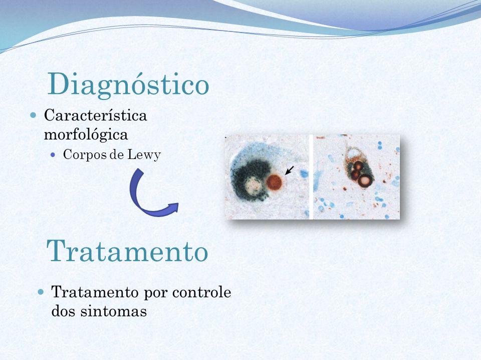 Diagnóstico Tratamento Característica morfológica