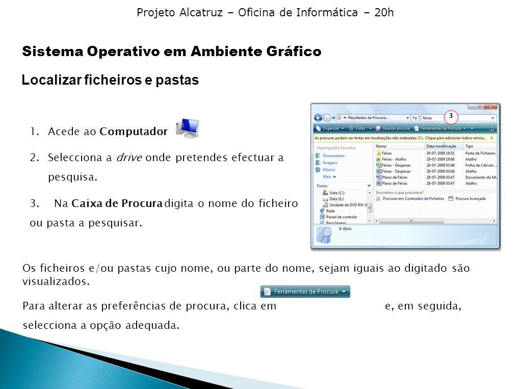 Sistema Operativo em Ambiente Gráfico