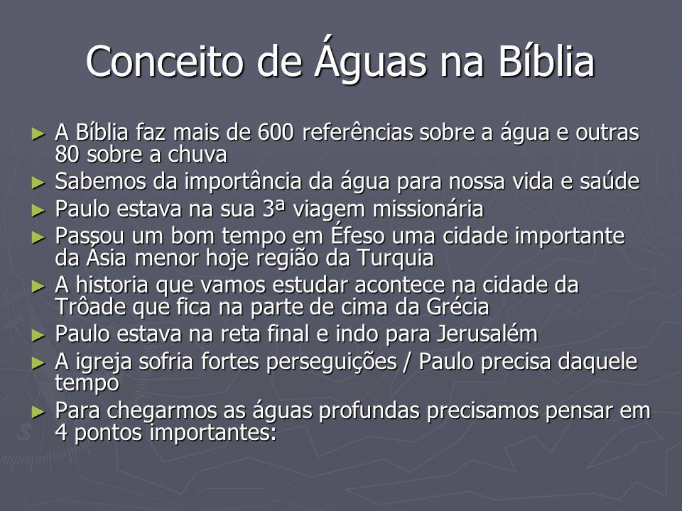 Conceito de Águas na Bíblia