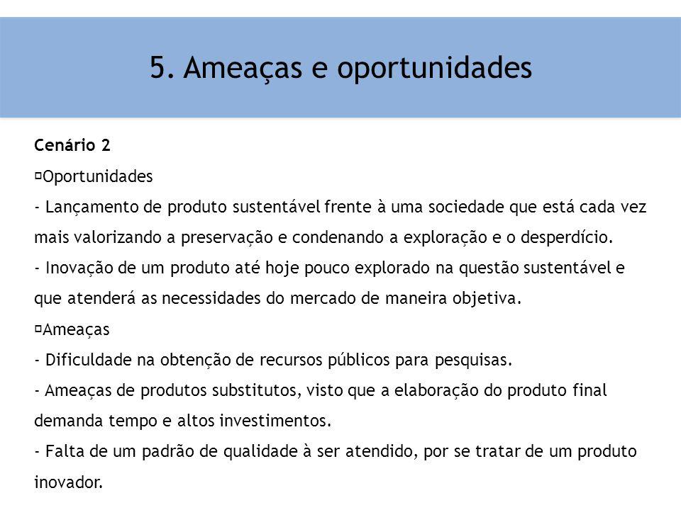 5. Ameaças e oportunidades