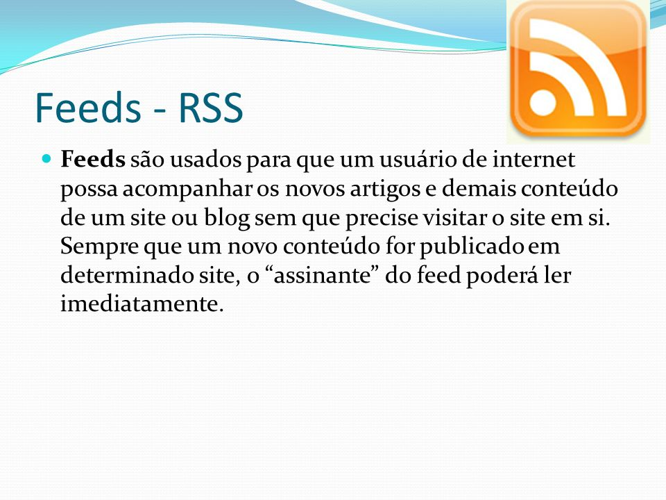 Feeds - RSS