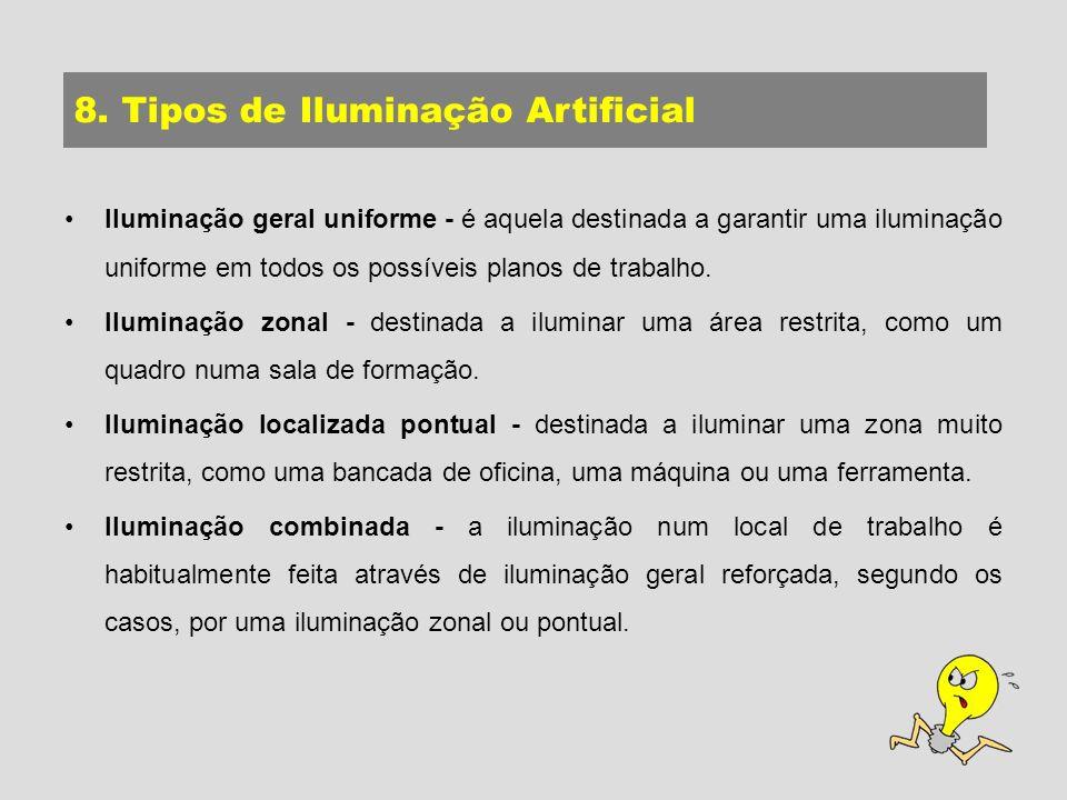 8. Tipos de Iluminação Artificial