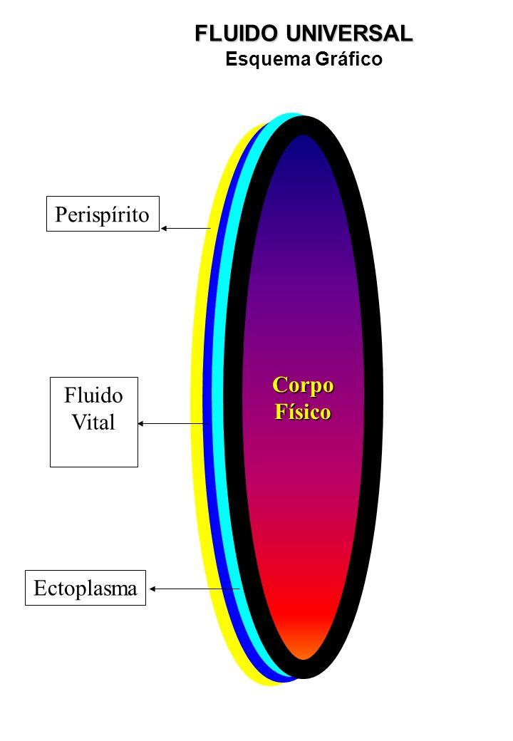 FLUIDO UNIVERSAL Ectoplasma Fluido Vital Corpo Físico Perispírito
