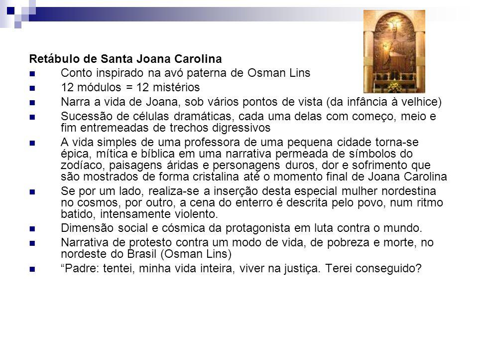 Retábulo de Santa Joana Carolina