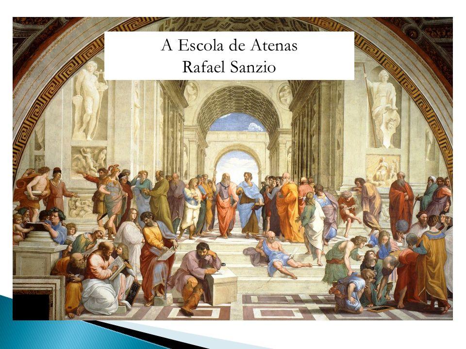 A Escola de Atenas Rafael Sanzio