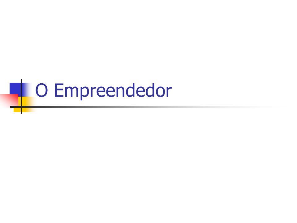 O Empreendedor