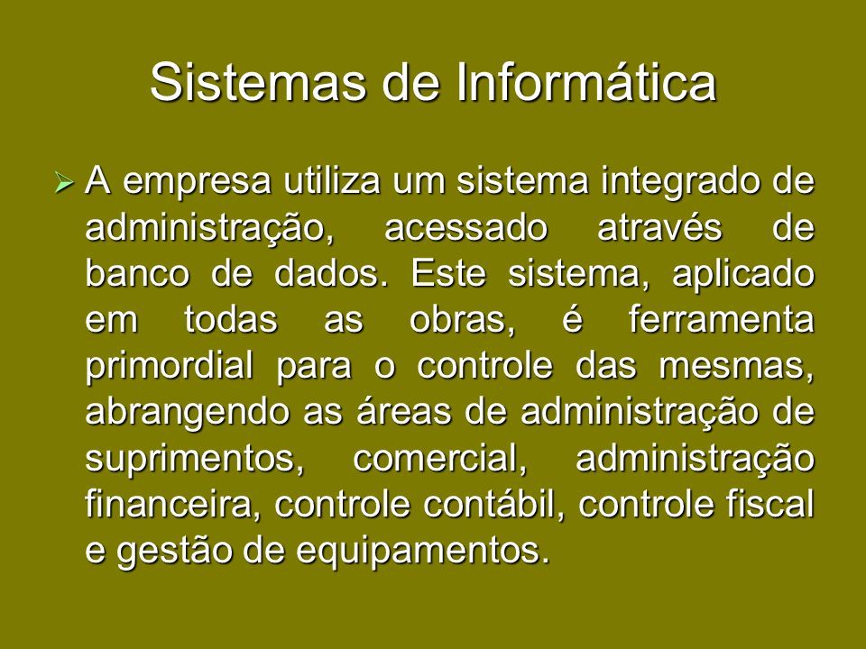 Sistemas de Informática