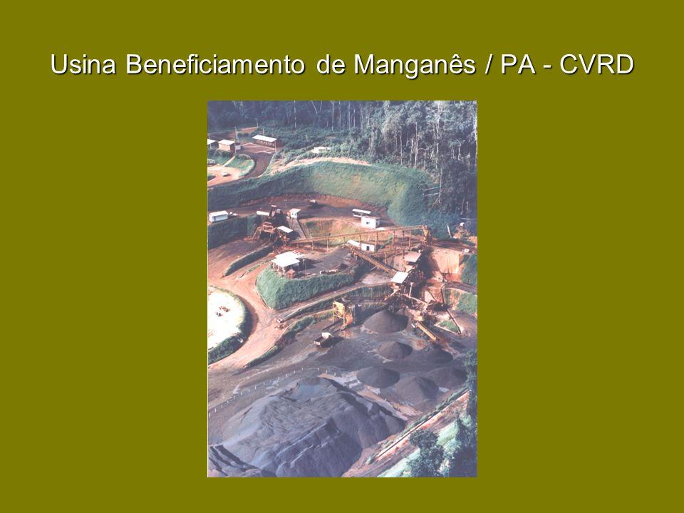 Usina Beneficiamento de Manganês / PA - CVRD