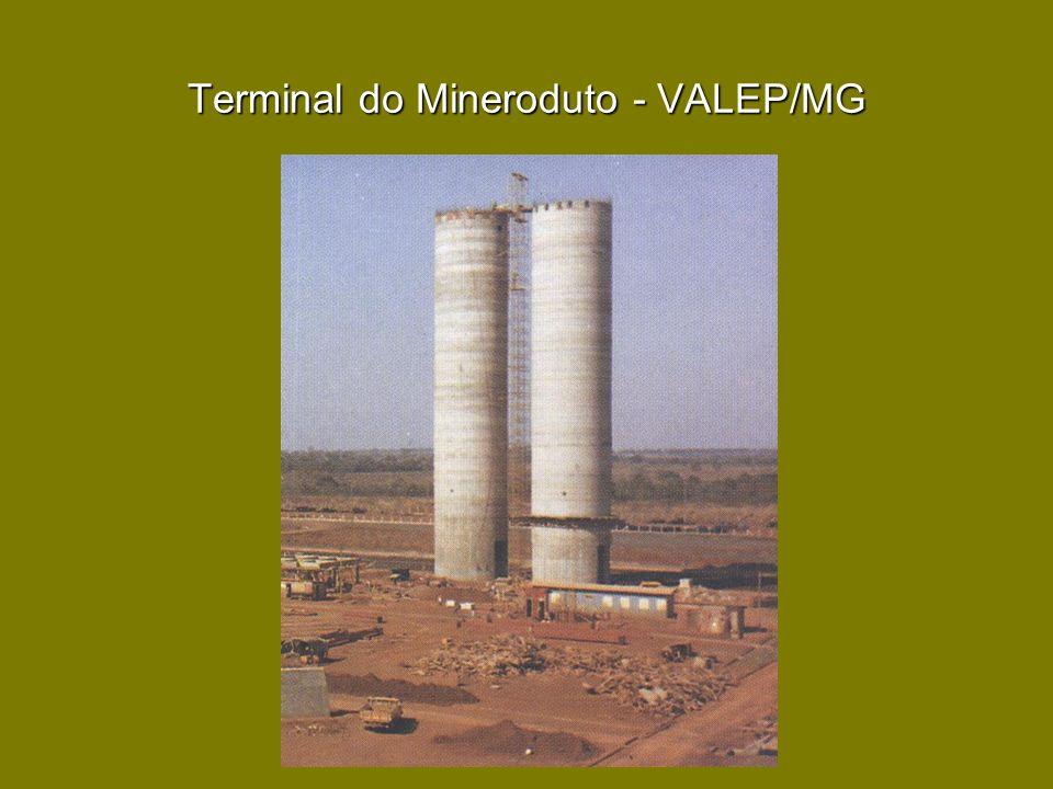 Terminal do Mineroduto - VALEP/MG