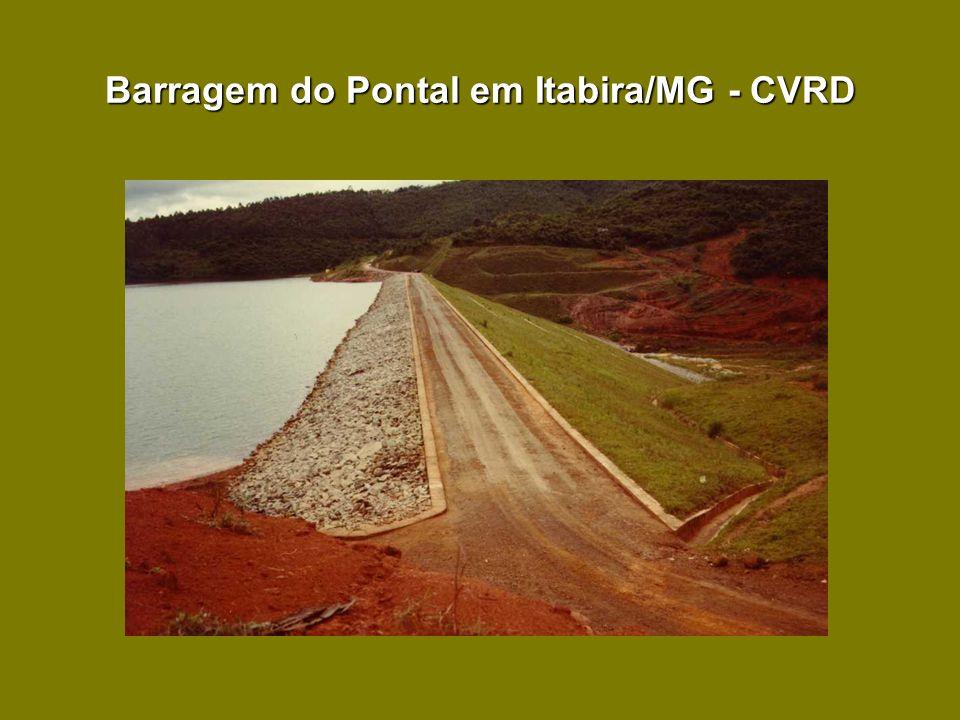 Barragem do Pontal em Itabira/MG - CVRD