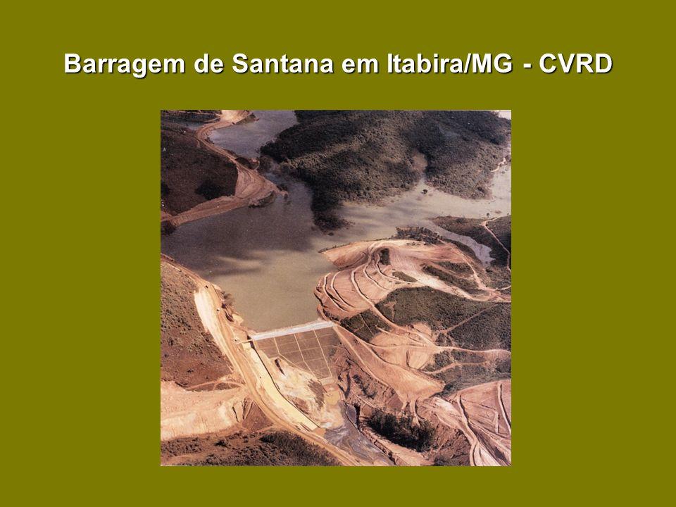 Barragem de Santana em Itabira/MG - CVRD