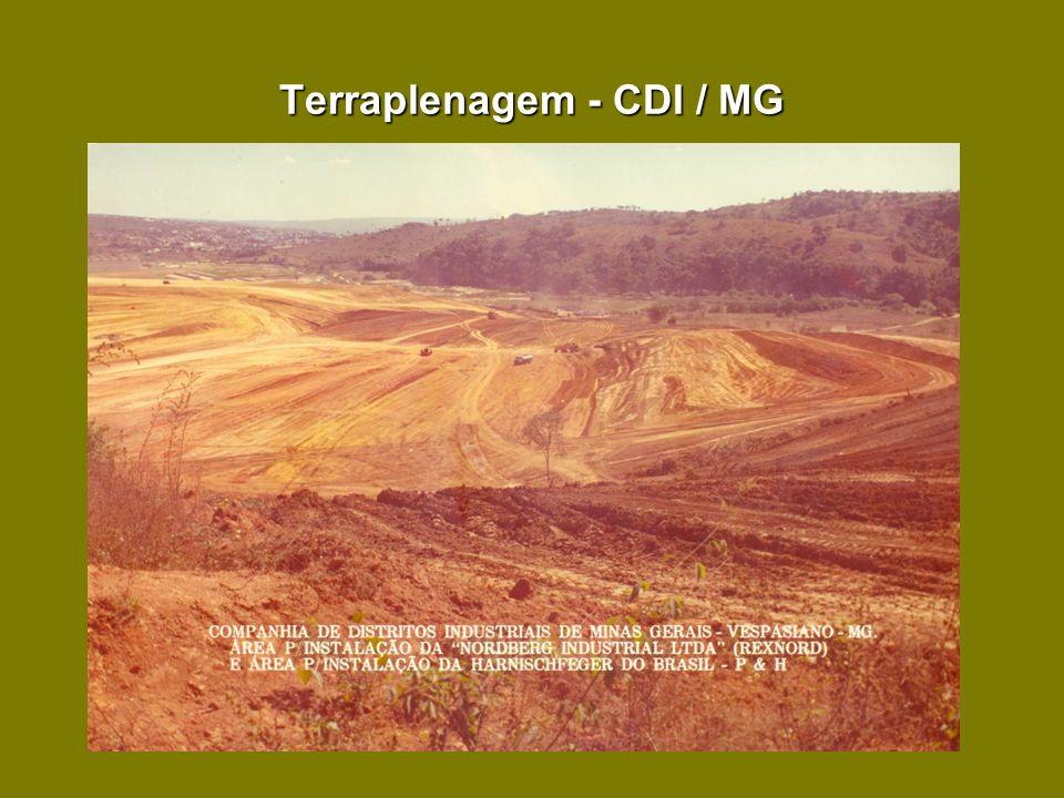 Terraplenagem - CDI / MG