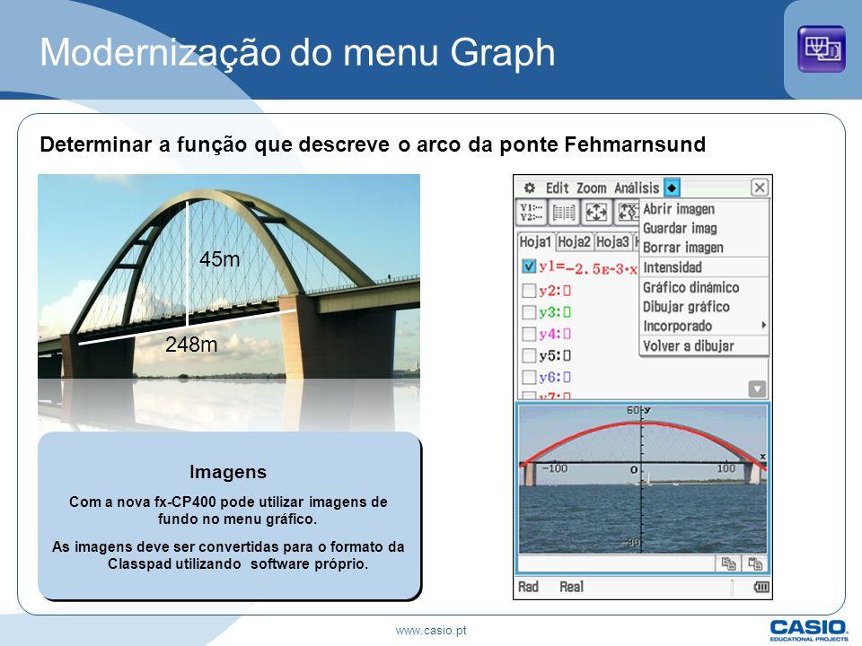 Modernização do menu Graph