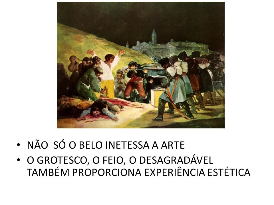 NÃO SÓ O BELO INETESSA A ARTE