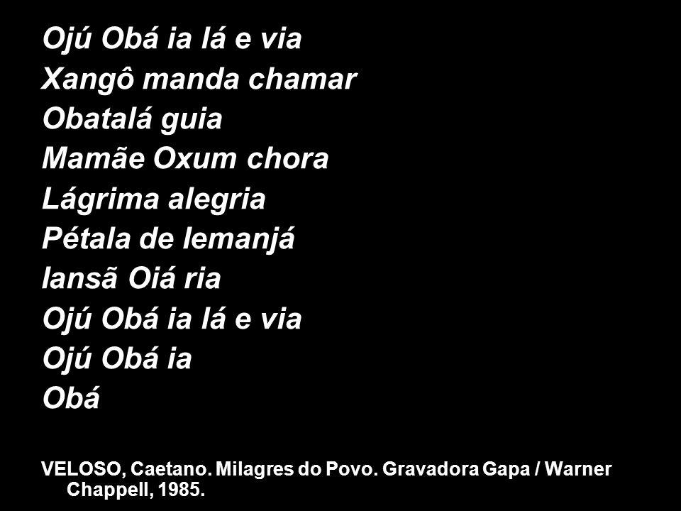Ojú Obá ia lá e via Xangô manda chamar Obatalá guia Mamãe Oxum chora