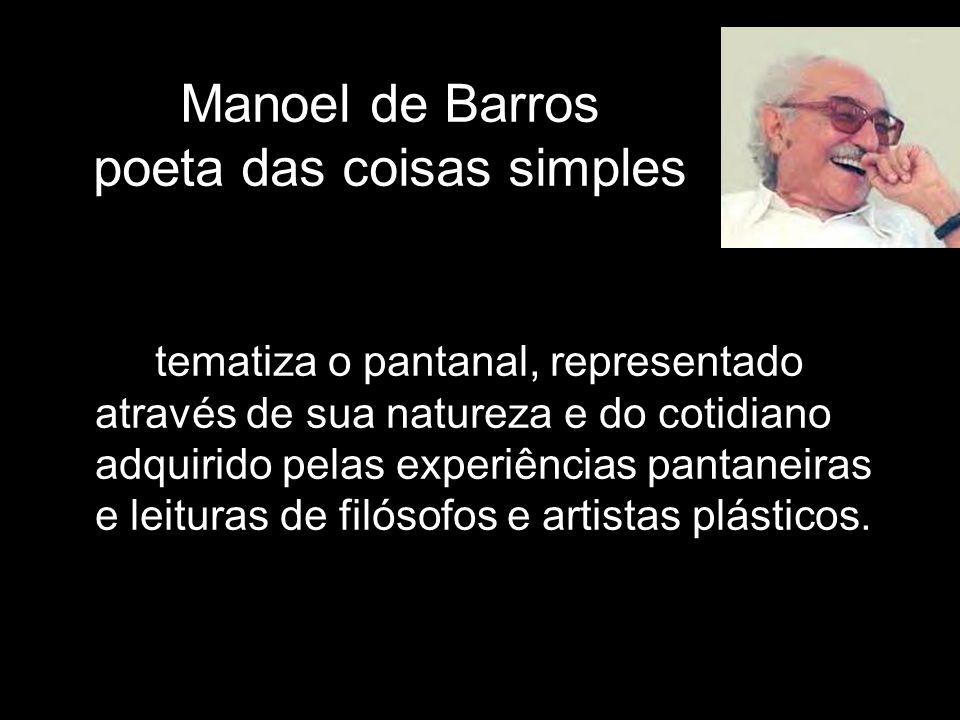 Manoel de Barros poeta das coisas simples