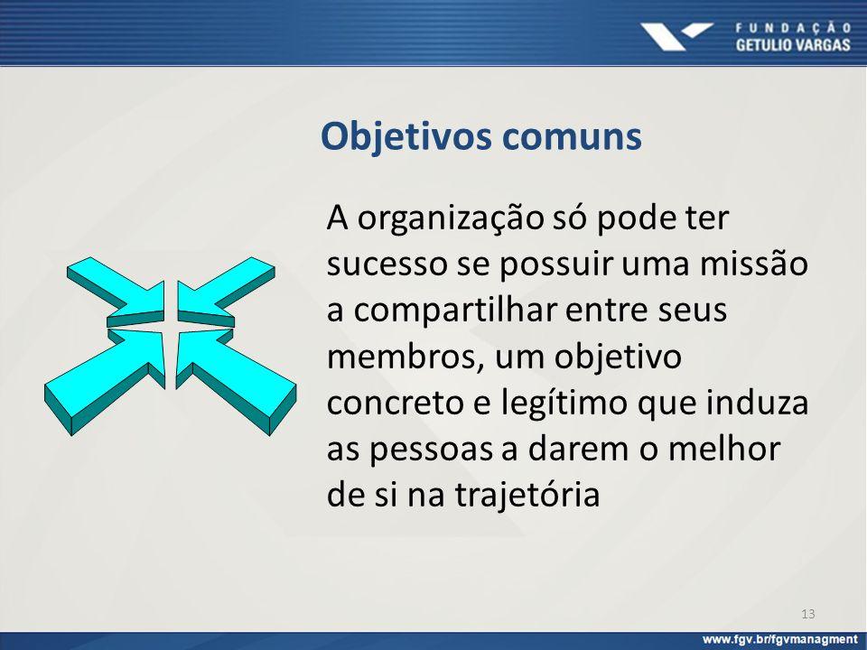 Objetivos comuns