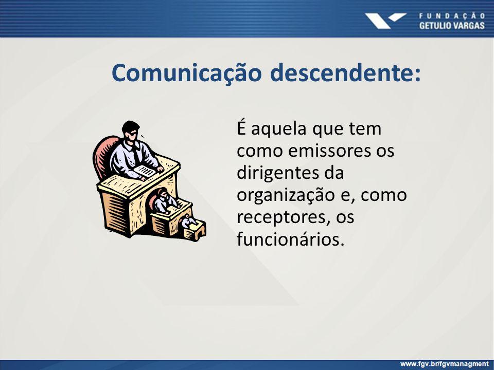 Comunicação descendente: