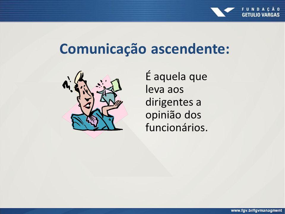 Comunicação ascendente: