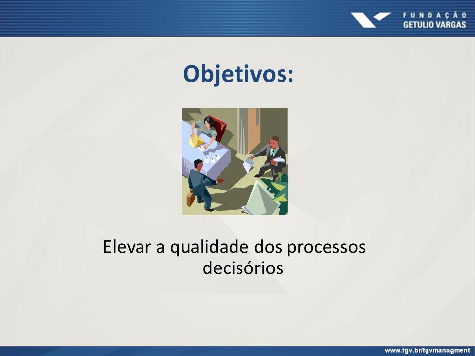 Elevar a qualidade dos processos decisórios