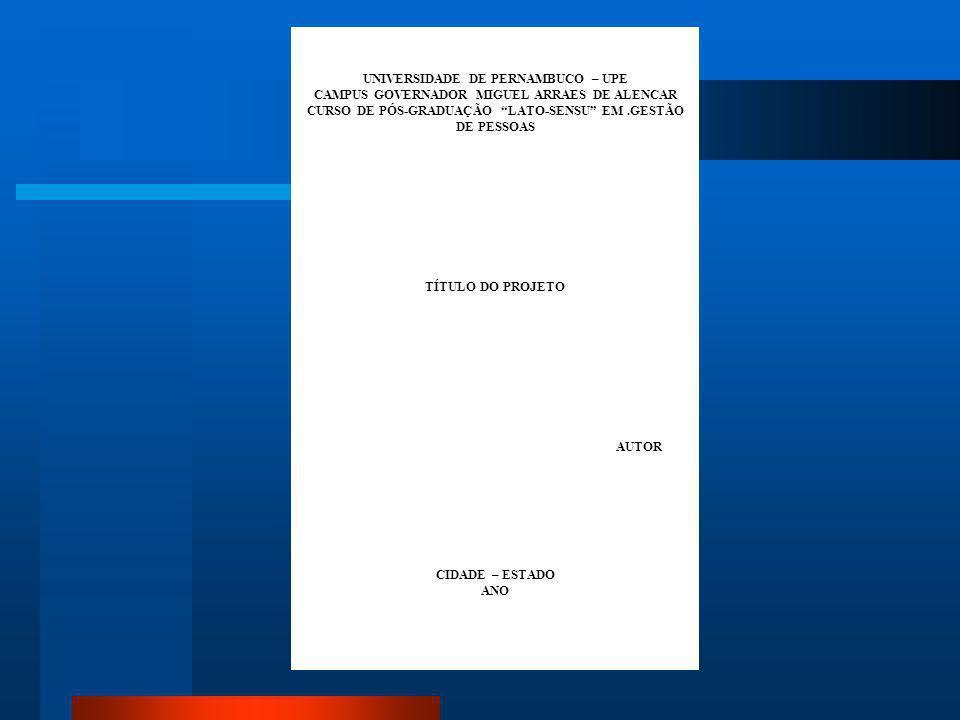 UNIVERSIDADE DE PERNAMBUCO – UPE