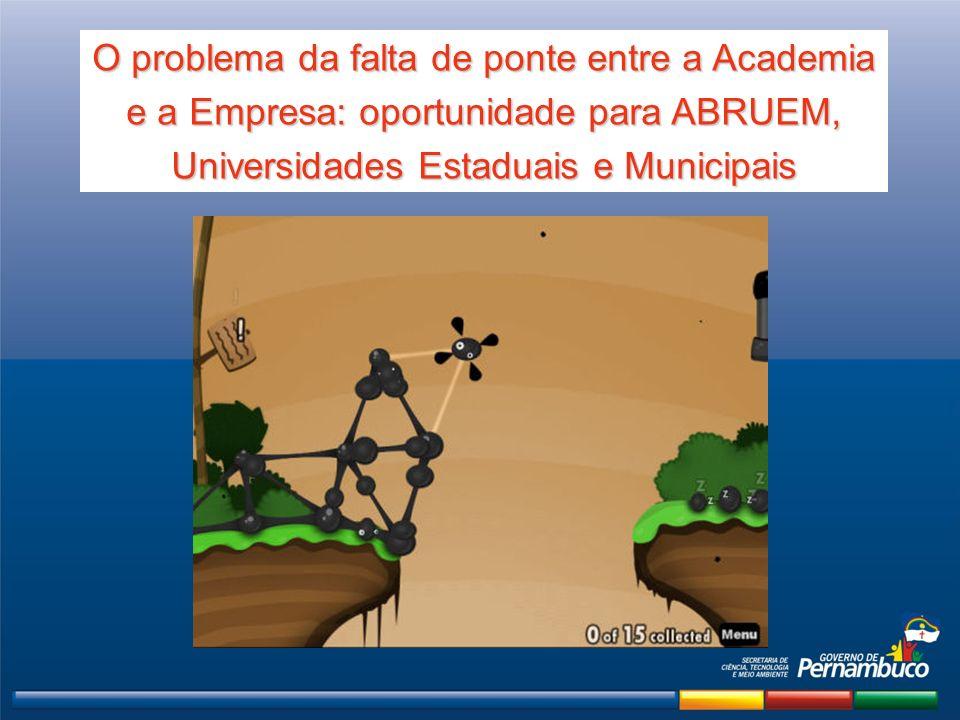 O problema da falta de ponte entre a Academia