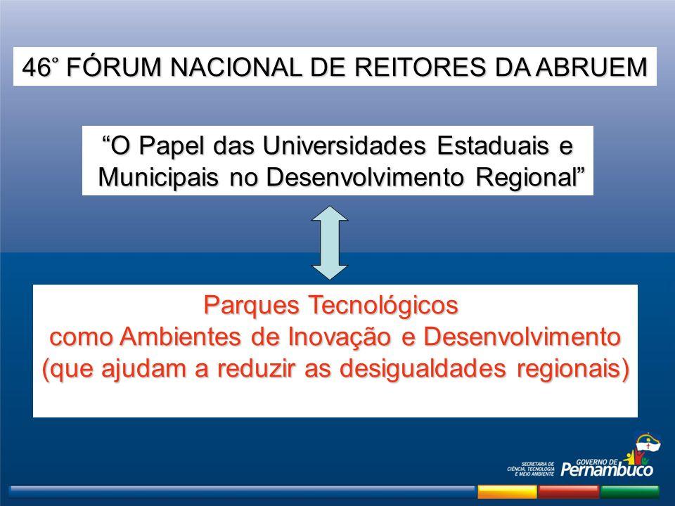 46 ̊ FÓRUM NACIONAL DE REITORES DA ABRUEM